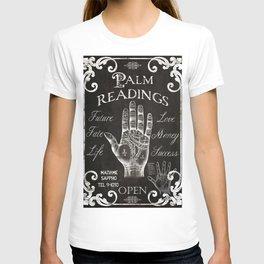 Vintage Palmistry Sign T-shirt