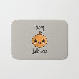 Happy Halloween Pumpkin Kawaii :) Bath Mat