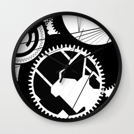 Cogs Of My Mind Wall Clock