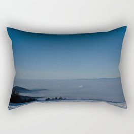 Black Forest Sunrise - Landscape Photography Rectangular Pillow
