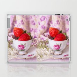 Strawberry time Laptop & iPad Skin