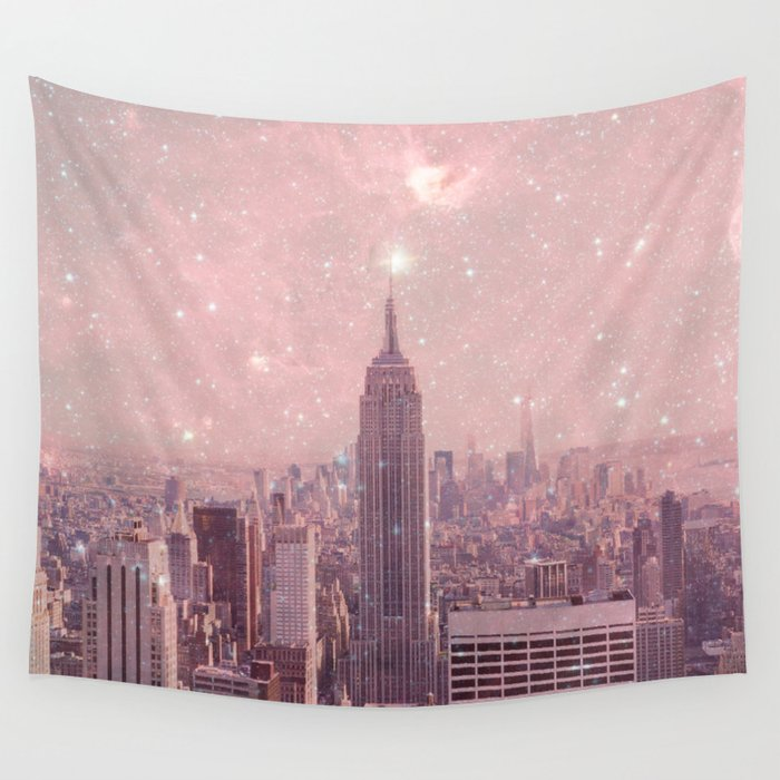 Stardust Covering New York Wall Tapestry