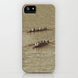 Do not row gentle iPhone Case
