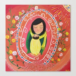 A Little Prayer | Yuko Nagamori Canvas Print