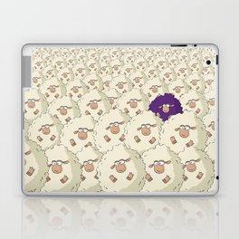 Sheep Pattern | Purple Laptop & iPad Skin