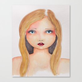 Bella SASS Girlz - Brandi - SASS = STRONG and SUPER SMART Canvas Print