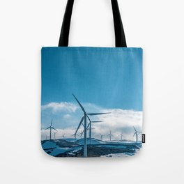 The Wind Farm (Color) Tote Bag