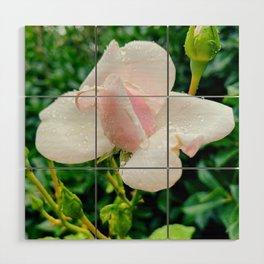 Little Rose Wood Wall Art