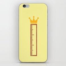 Ruler iPhone & iPod Skin