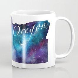 Oregon State Watercolor Galaxy Coffee Mug