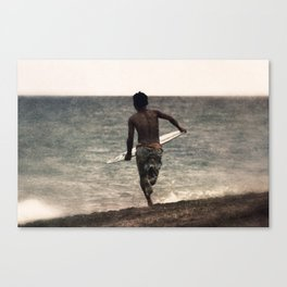 Run Canvas Print