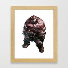Battle Berzerker Balto gritty Framed Art Print