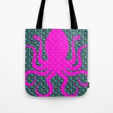 Pink Octopus Tote Bag