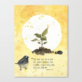 4 Parable of the Sower Series - The Good Soil Canvas Print