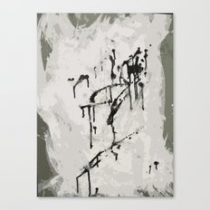 murder by ink. Canvas Print