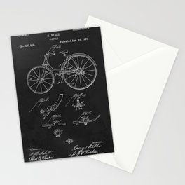 Bicycle 1889 Patent Cycling Stationery Cards