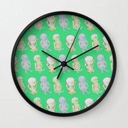 Buddha Babies Wall Clock