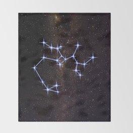 Saggitarius Throw Blanket