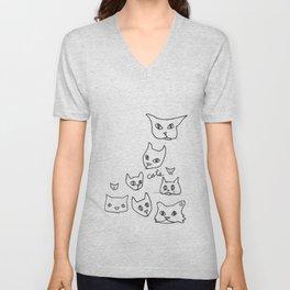 Cats Cat Unisex V-Neck
