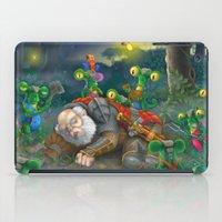 fireflies iPad Cases featuring fireflies by Fargon