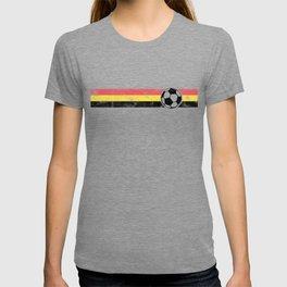 2018 Soccer Cup Belgium Flag BE Championship black T-shirt