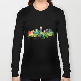 Indiana, Indianapolis Skyline SP Long Sleeve T-shirt