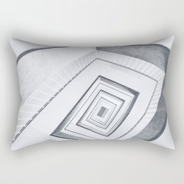 Upstairs, downstairs (Berlin abandoned places) Rectangular Pillow