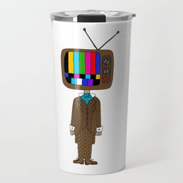 TV Head Travel Mug