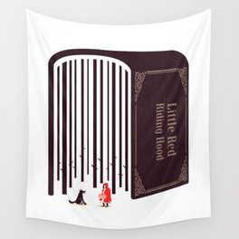 Little Red Riding Hood Wall Tapestry