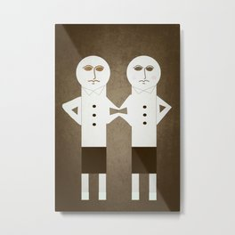 The Terrible Twins Metal Print