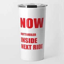 Now I Lay Me Down to Sleep Rottweiler Prayer T-Shirt Travel Mug