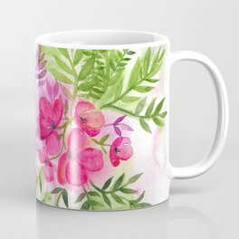 Dual Bouquets - a watercolor floral Coffee Mug