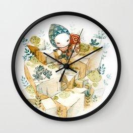 Microcosm: Little Traveller Wall Clock