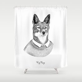 Stay guilty Shower Curtain