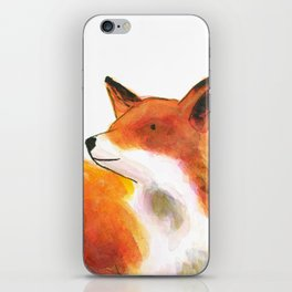 Fox & stars iPhone Skin