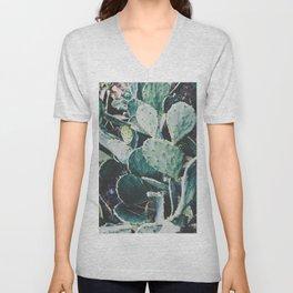 Wild cactus Unisex V-Neck