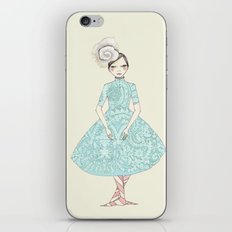 Third position iPhone & iPod Skin