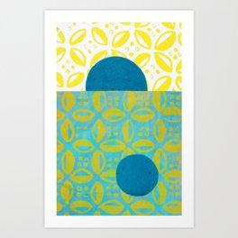 Cowrie Minimalism Art Print