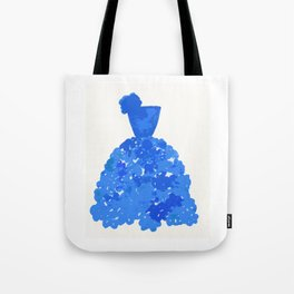 A Pretty Blue Dress Tote Bag