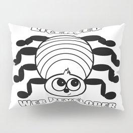 Spider Licensed Web Developer Funny Pillow Sham