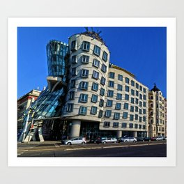Dancing House   Frank Gehry   architect Art Print