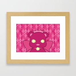 Monochromatic Kuma Ginko Framed Art Print