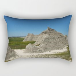 The Beauty Of A Rough Country Rectangular Pillow