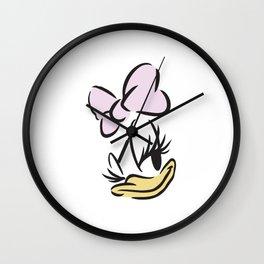 Daisy Duck No. 8 Wall Clock