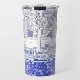 washington dc city skyline Travel Mug