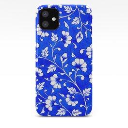 Jaipur Blue Florals iPhone Case