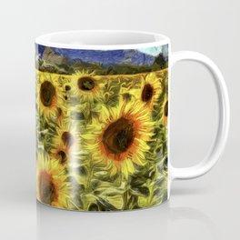 Sunflowers Vincent Van Gogh Coffee Mug