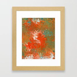 As Luck Would Have It, Abstract Art Framed Art Print