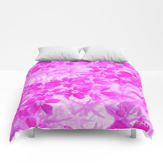 Flower | Flowers | Pink Flox Comforters