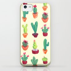 Cacti Pattern Slim Case iPhone 5c